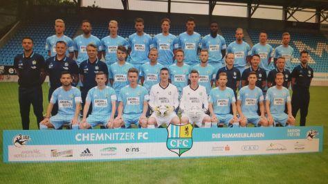 CFC Mannschaft2017