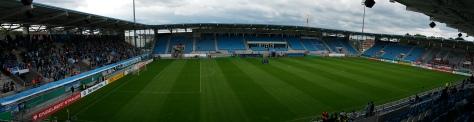 Stadion vor Anpfiff